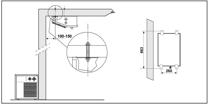 Split Kühlaggregate mit hermetischen Kompressor