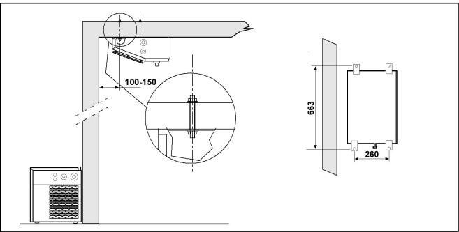 Split Refrigeration System With hermetic compressor