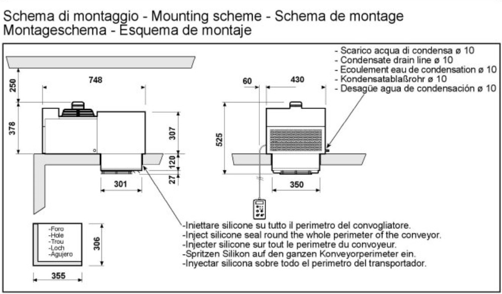 MONOBLOCK REFRIGERATION UNIT, ROOF MOUNTING