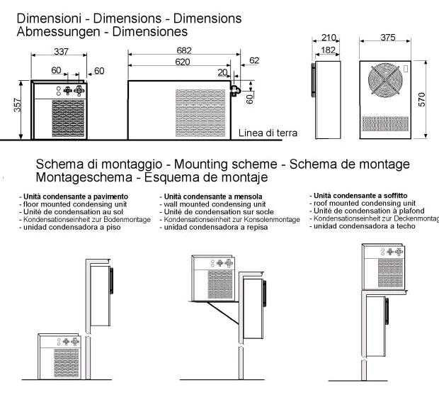 Sales of  MONOBLOCK REFRIGERATION UNIT, FOR WINE CELLAR RDV102002F