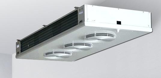 evaporadores de plafon para camaras frigorificas de congelacion y conservacion