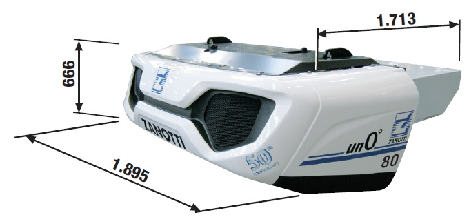 Sales of  TRANSPORT REFRIGERATION SYSTEM UNO080TDN30F