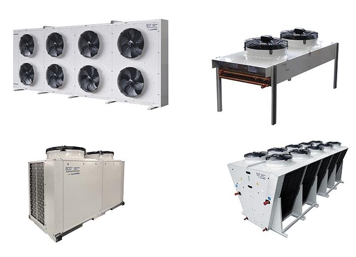 Sistema de enfriamiento adiabático CHILLBOOSTER CAREL para Condensador ECO 500-3V 00428393