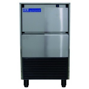 ICE CUBERS MAKERS UNDER COUNTER DELTA NG45 Production Capacity  Kg/24 Hours: 45 Kg.